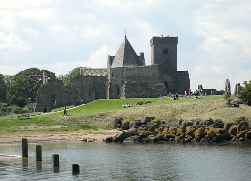 Inchcolm Abbey from Pier
