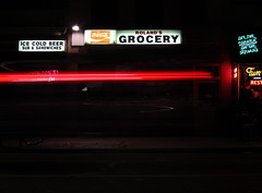 Roland's Grocery (jleathers) Tags: beer night washingtondc dc washington timelapse neon coke grocery capitolhill pennsylvaniaave thehill rolands pennave tuneinn