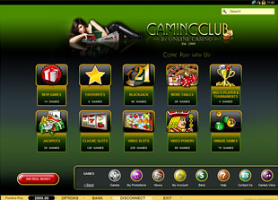 Gaming Club 1 Casino Lobby