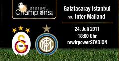 Galatasaray-Inter locandina - bill