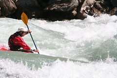 Paddling the big on the Karnali river Adventure rafting and Kayaking river trip