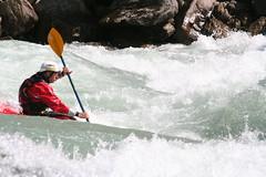 Paddling the big on the Karnali river Adventure rafting and Kayaking river trip