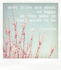 linkcoln quote polaroid