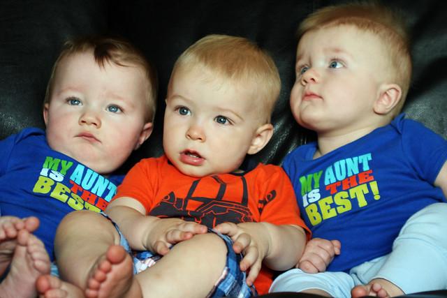 Braden & His Twin Cousins