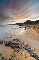Punta seca, (Calblanque) (Carlos J. Teruel) Tags: longexposure espaa mar nikon nightshot paisaje murcia nubes nocturna nocturnas cartagena d300 2011 calblanque tokina1116 xaviersam