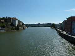 View from Passau bridge