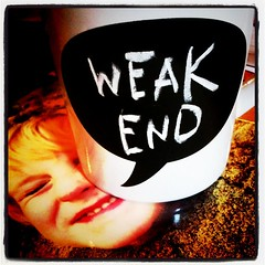 Weak end. #chalkmug