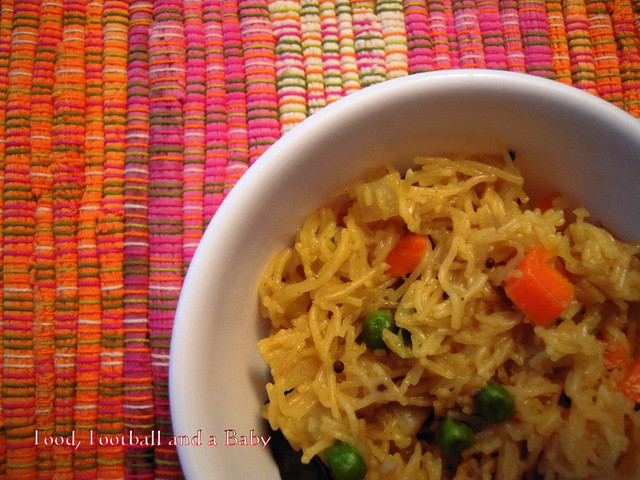 Vegetable Pulao 1