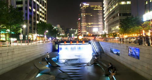 A Walk from Cheonggyecheon
