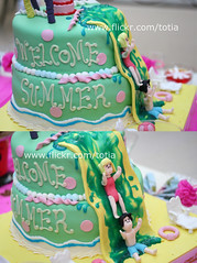 WELCOME SUMMER (Totia) Tags: party summer cake fun sugar sprinkles icecake