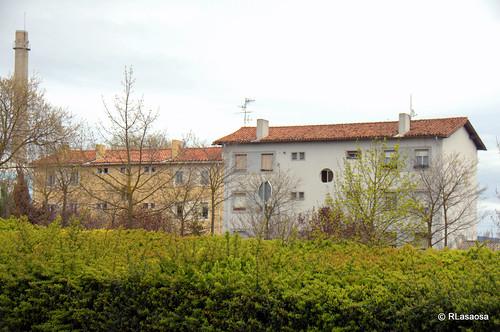 Edificios y vistas de la Avenida de Aróstegui de Pamplona