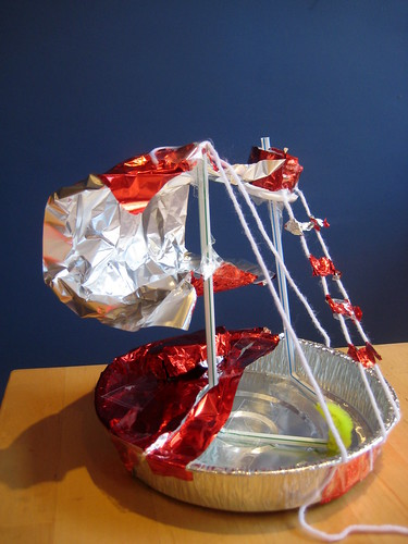 how to make a toy boat pirate ship