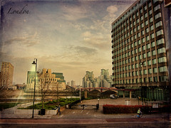 London as landscape (ZedZap Photos) Tags: uk london hdr pimlico motat riverwalkhouse tatot zedzap