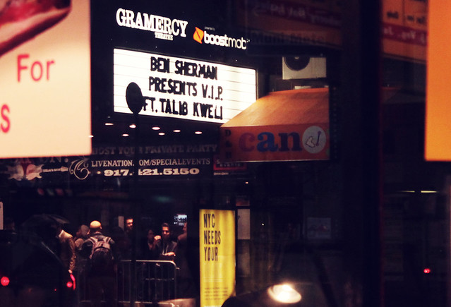 NYC: Ben Sherman presents V.I.P ft. Talib Kweli