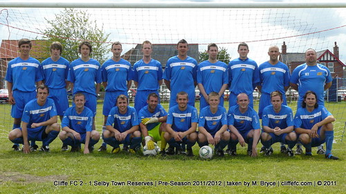 Cliffe FC 2 - 1 Selby Town Reserves (pre-season) 23Jul11