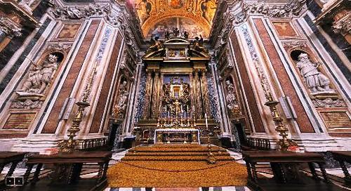 Capilla Borghese visita virtual