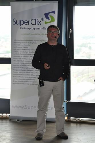 Jens Maurer als Sprecher auf der Affiliate Konferenz