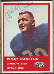 1963 Fleer - 25 - Wray Carlton