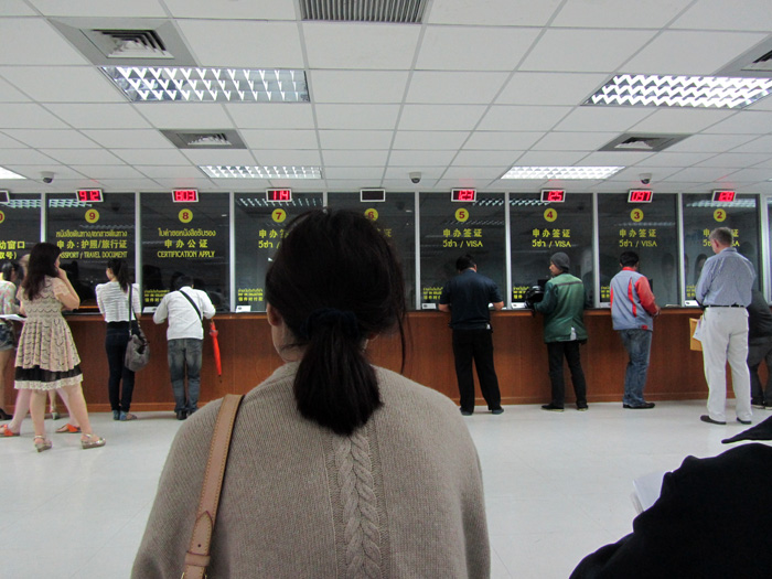 China Visa Office in Bangkok