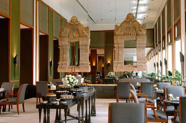アフタヌーンティーで人気のホテル ザ スコタイ バンコク