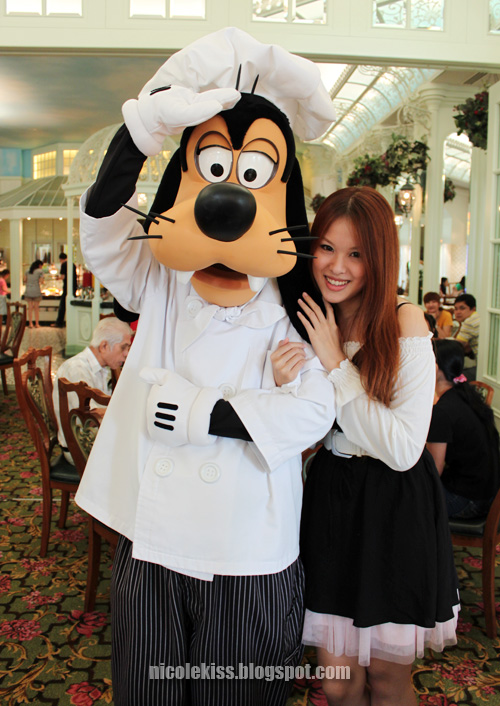 chef goofy being goofy