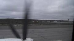 Take off from Inuvik, NWT (in an Aklak Air Basler BT-67 aircraft) (jimbob_malone) Tags: plane video northwestterritories inuvik 2011