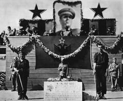 Fillimi i punimeve t ndrtimit t hekurudhs s par shqiptare Durrs-Tiran m 1 maj 1947, me 5000 vulnetar t rinj. Official beginning of the construction of the first Albanian railway Durrs-Tirana in 1947 by 5000 young volunteers from all Albania. (Only Tradition) Tags: al albania communisme hsh albanien shqiperi shqiperia durazzo albanija albanie hoxha shqip shqipri durrs ppsh shqipria shqipe arnavutluk hcpa albani   gjuha   rpsh  rpssh    dyrrachium epidamnos    komunizm    albnija