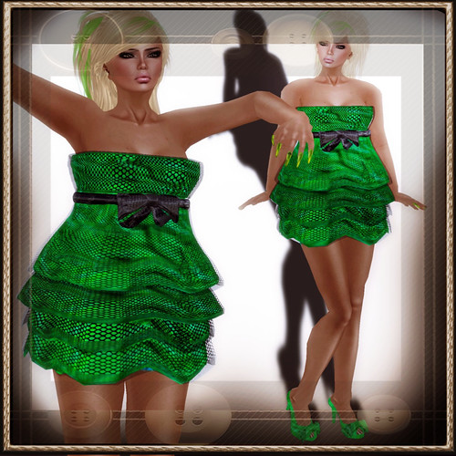 A&A Fashion Dolores [Sculpted]Dress Green