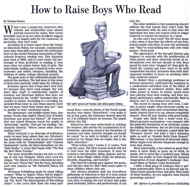 How to Raise Boys Who Read