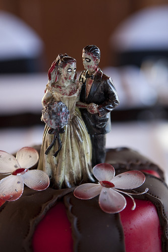 Our Zombie Wedding topper