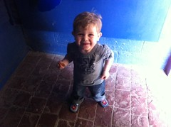 Owen liked St Andrew's Aquarium!