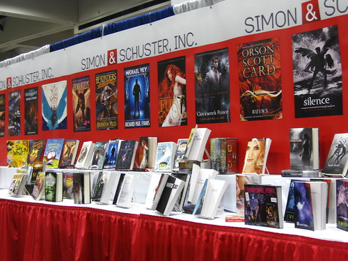 simon & schuster booth