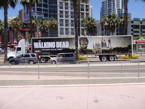San Diego Comic-Con 2011 - Walking Dead truck ad