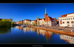 The River (HDR) #Explore 31th July, Nr.425# (ATSICHLAS (Busy)) Tags: river germany lubeck hdr colorphotoaward stunningphotogpin