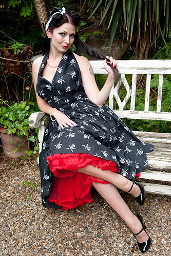 Skull Dress Pinup