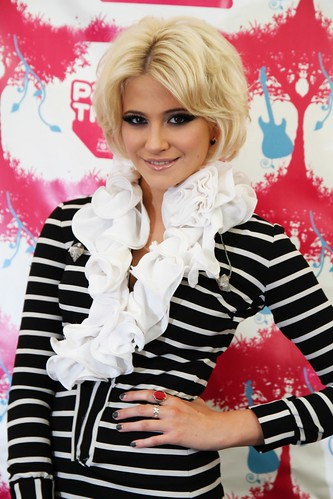 Pixie Lott at Party In The Park 2011