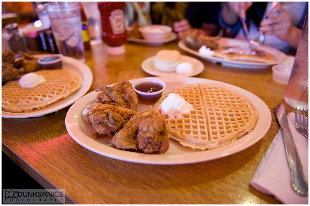 Roscoe's Chicken and Waffles.