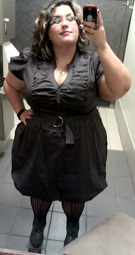 Me, in Torrid dress