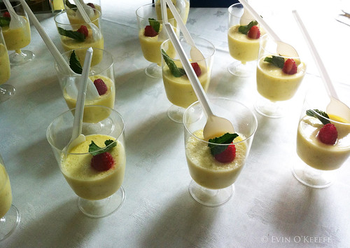 Elderflower Panna Cotta from Electric