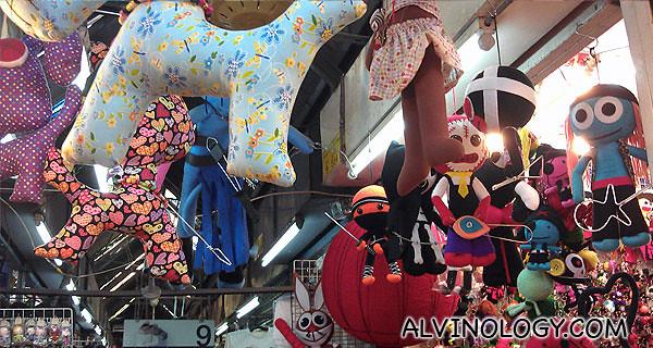 Toy shop in Chatuchak Market
