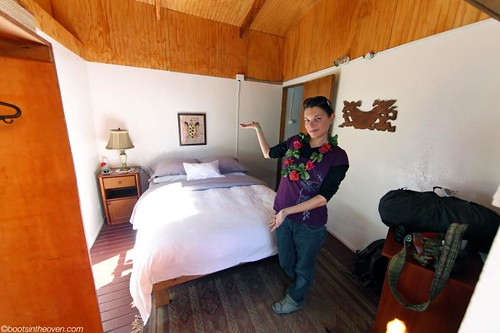 Our tiny but wonderful room at Te'Ora, Hanga Roa