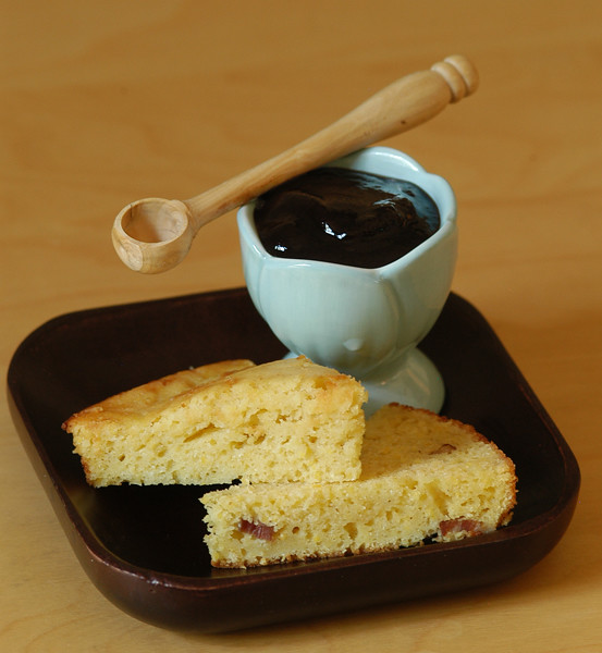 cornbread and blueberry butter2