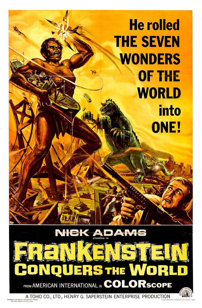 Reynold Brown - Frankenstein Conquers the World (American International, 1966)