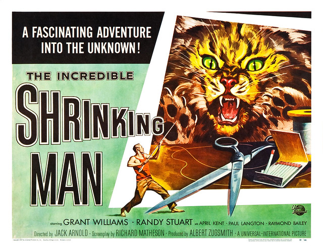 Reynold Brown - The Incredible Shrinking Man (Universal International, 1957) half sheet