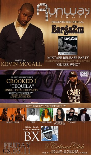 Kevin McCall Mixtape Release, Crooked I's Single Premiere, & More Live! by VVKPhoto