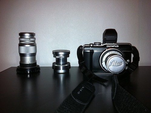 Olympus EPL1 mit Leica m39 Adapter by rudingshain