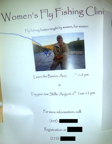 Women's Fly Fishing Clinic: Fly fishing basics taught by women, for women.
