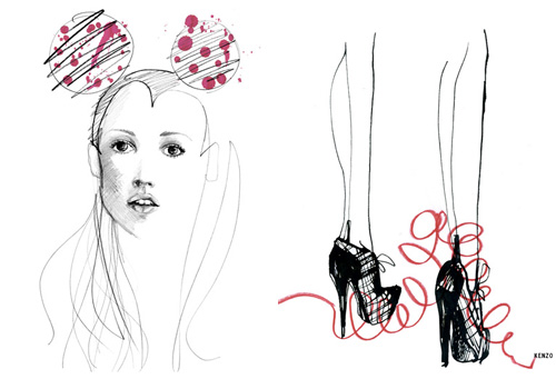 6013702269 92f509b9f8 30 Fashion Illustrators You Can't Miss Part 3