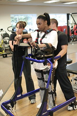 Kim B. C4/C6 Quadriplegic (Walk The Line To SCI Recovery) Tags: standing michigan injury quad trainers walker workout sci recovery pacer rehab spinal southfield walktheline paralysis kafo spinalcordinjuryrecovery physicaltherapy paralyzed spinalcordinjury quadriplegic rifton scirecovery