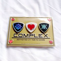 COMPLEX@東京ドームグッズ